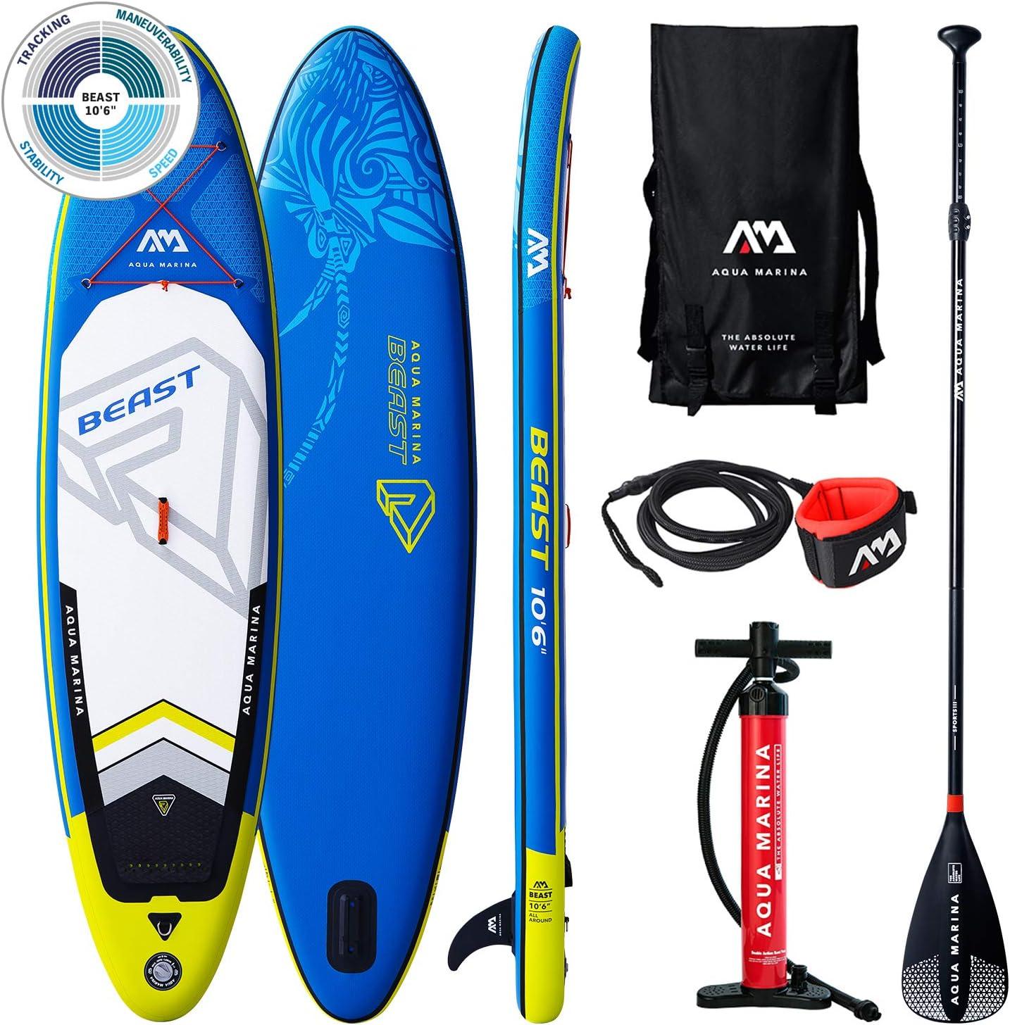 Aqua Marina Beast Advanced All-Around Isup, Adultos Unisex, Blue, Uni