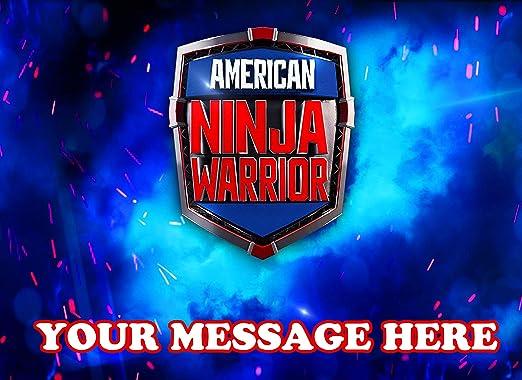 American Ninja Warrior - Decoración comestible para tarta ...