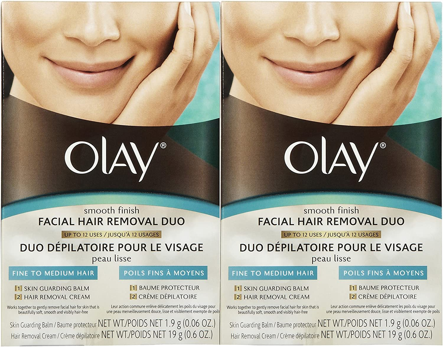 Olay Facial Hair Removal Duo - 2 pk
