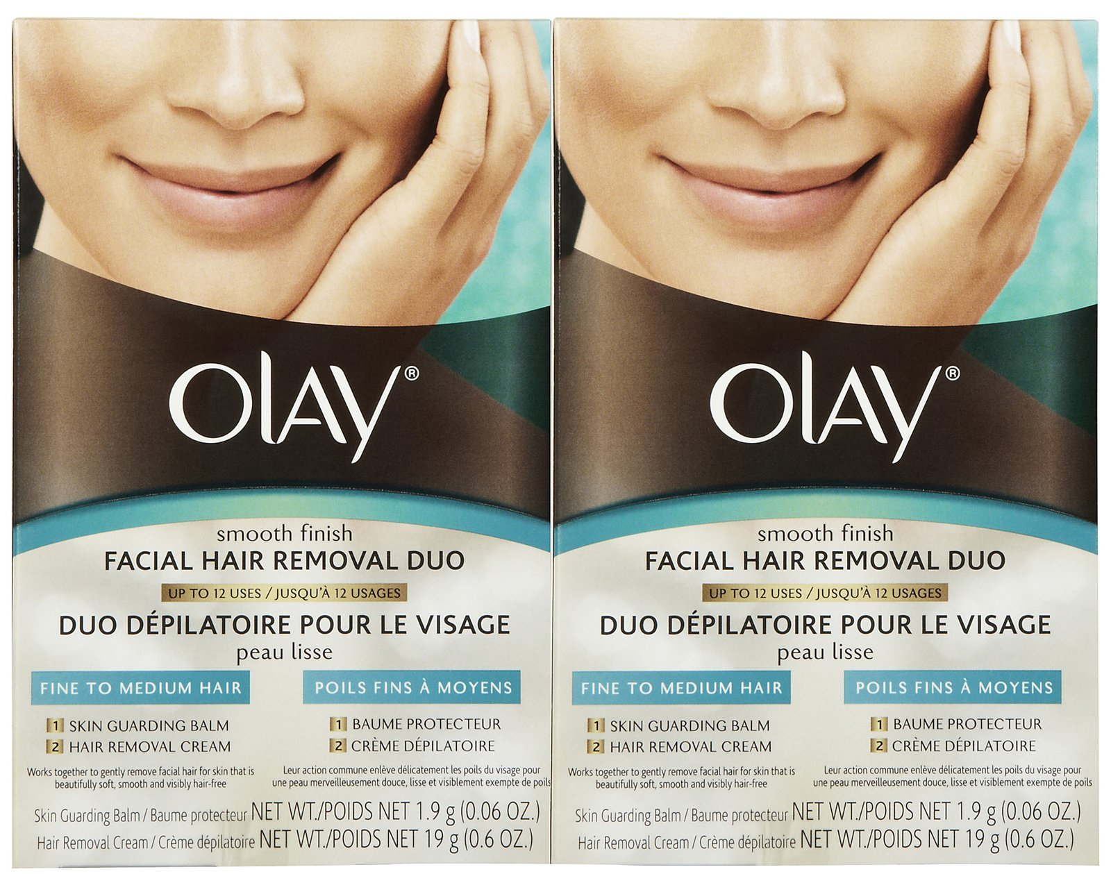 Olay Facial Hair Removal Duo - 2 pk by Olay