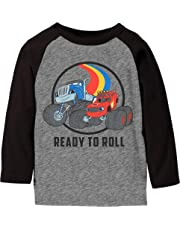 Jumping Beans Toddler Boys 2T-5T Blaze Ready to Roll Graphic Tee