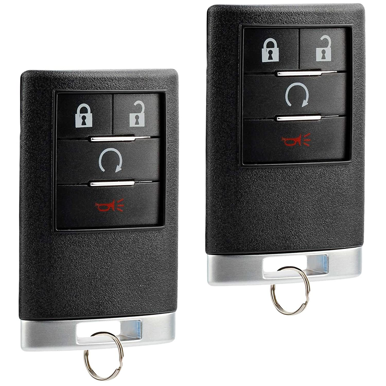 Not for Push to Start USARemote 2 fits 2007-2014 Cadillac Escalade ESV EXT Key Fob Keyless Entry Remote OUC6000066