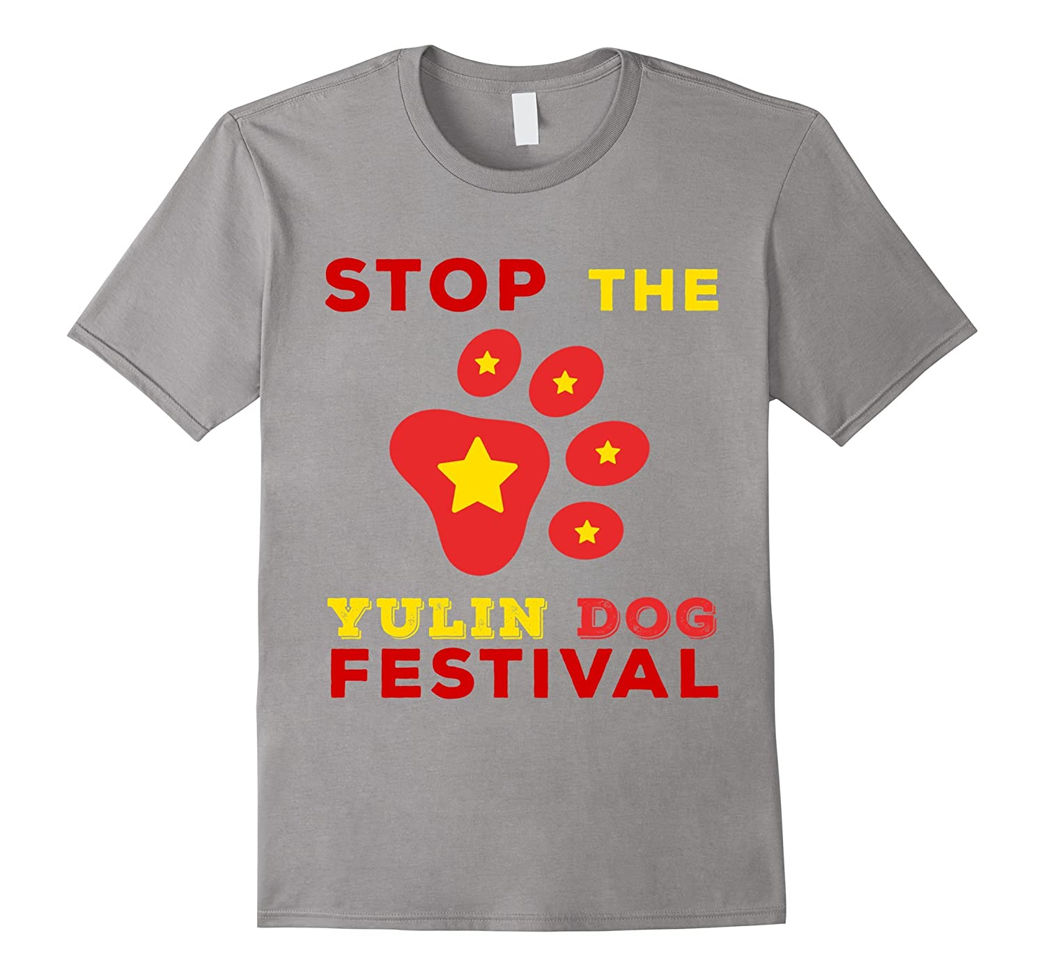 Stop The YuLin Dog Festival T-Shirt