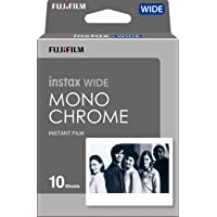 Fujifilm 16564101 Instax Wide Monochrome Film 10 Sheet