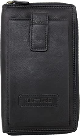 Black Boshiho Travel Passport Wallet Credit Card Holder for Men /& Women with Zipper Pocket ID Card Slot-Genuine Leather Multi-Purpose