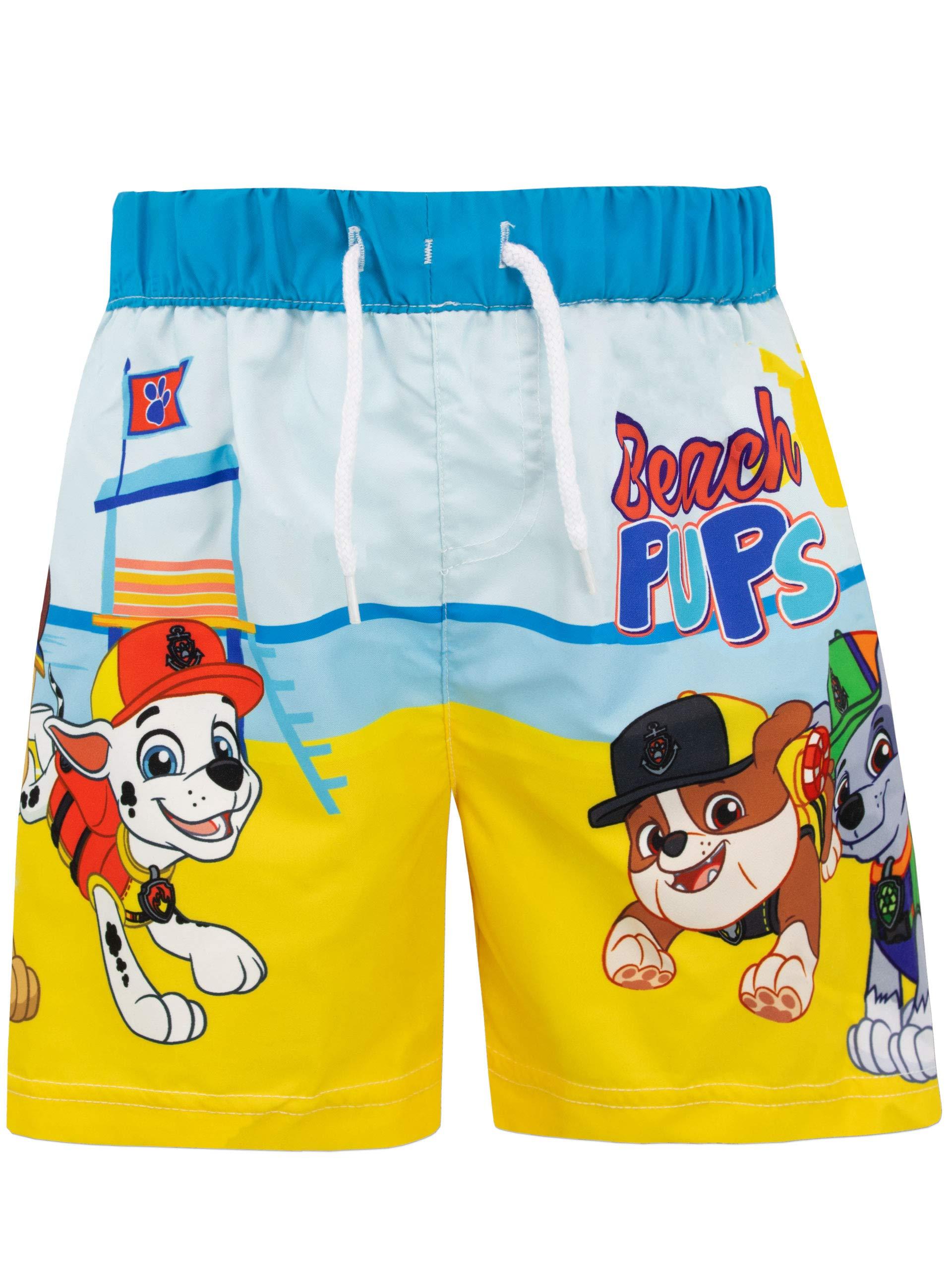 Paw Patrol Boys Chase and Marshall Swim Shorts