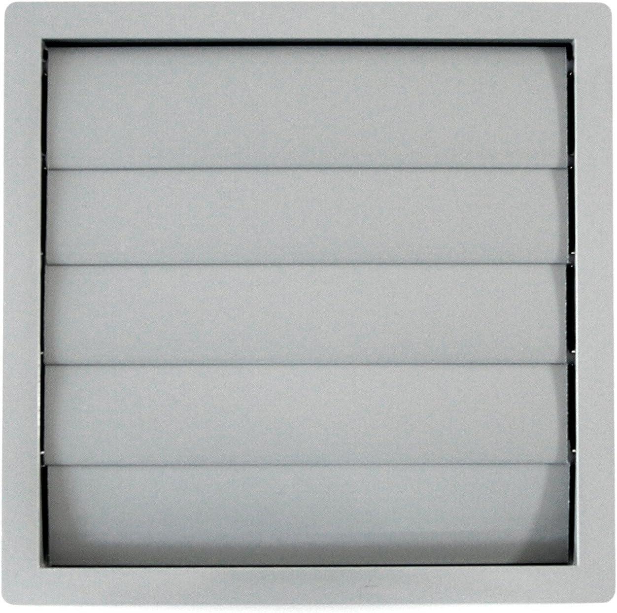 calimaero VK 200 mm Rejilla de Ventilación de Plástico Cuadrada Aire Externo