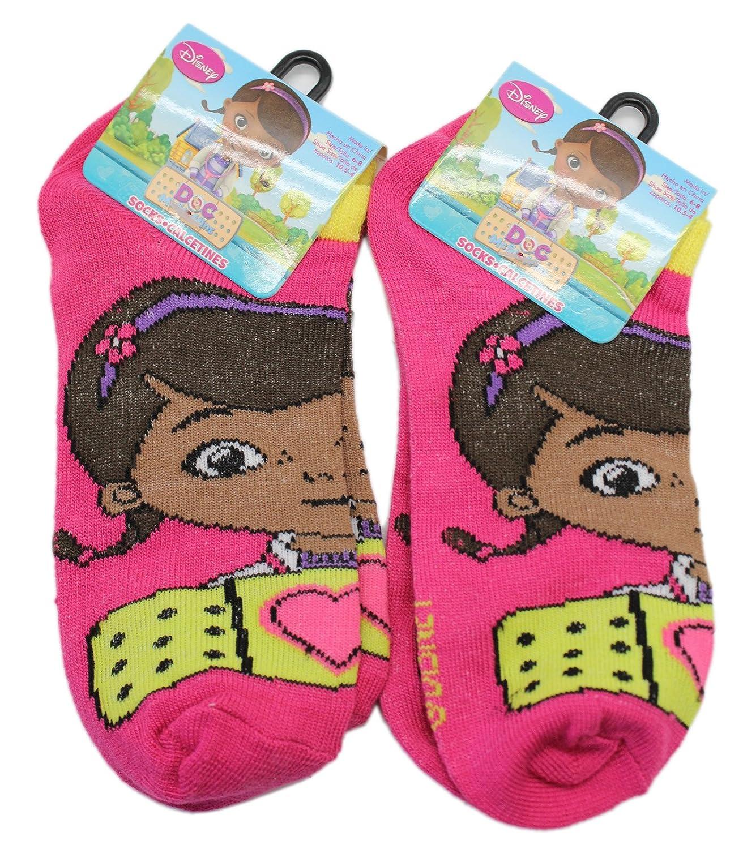 Amazon.com: Disney Juniors Doc McStuffins Magenta Colored Socks (2 Pairs, Size 6-8): Clothing