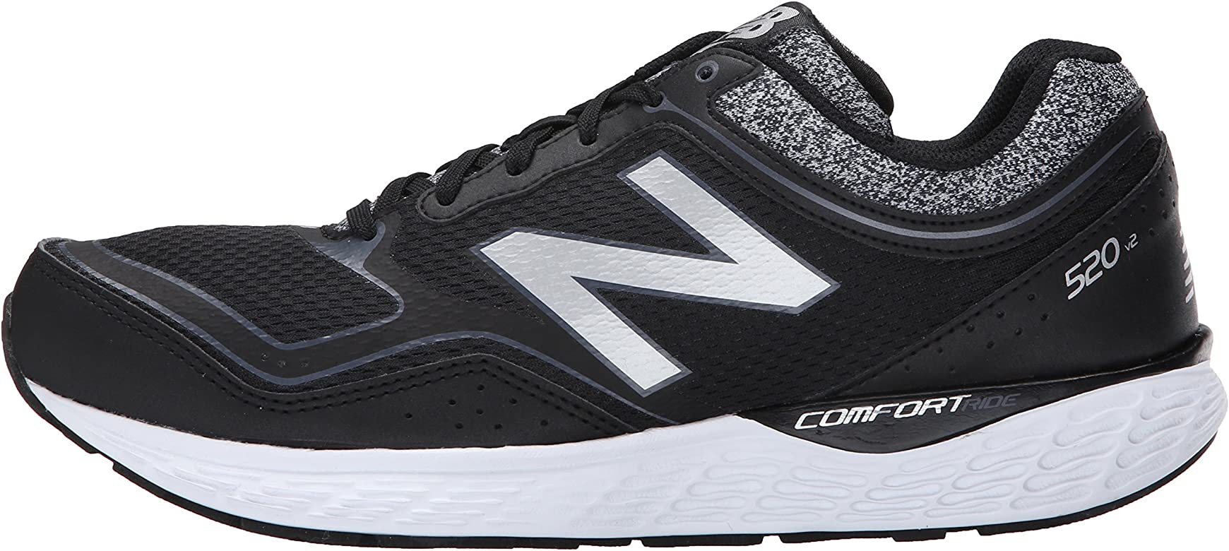 NEW BALANCE FITNESS RUNNING AMORTIGUACIÓN NEUTRAL - Zapatillas de deporte para hombre, color negro, talla 41,5: Amazon.es: Zapatos y complementos