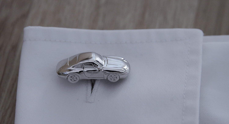 /993/Dise/ño Gemelos maciza de plata 925/en Porsche 911/