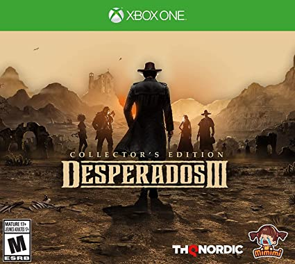 Amazon Com Desperados Iii Collector S Edition Xbox One Collector S Edition Video Games