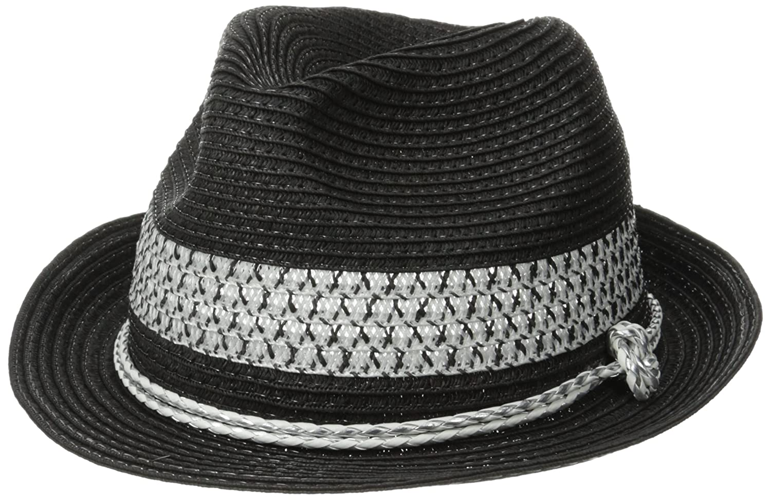 RAMPAGE Women's Fedora with Pu Rope and Band