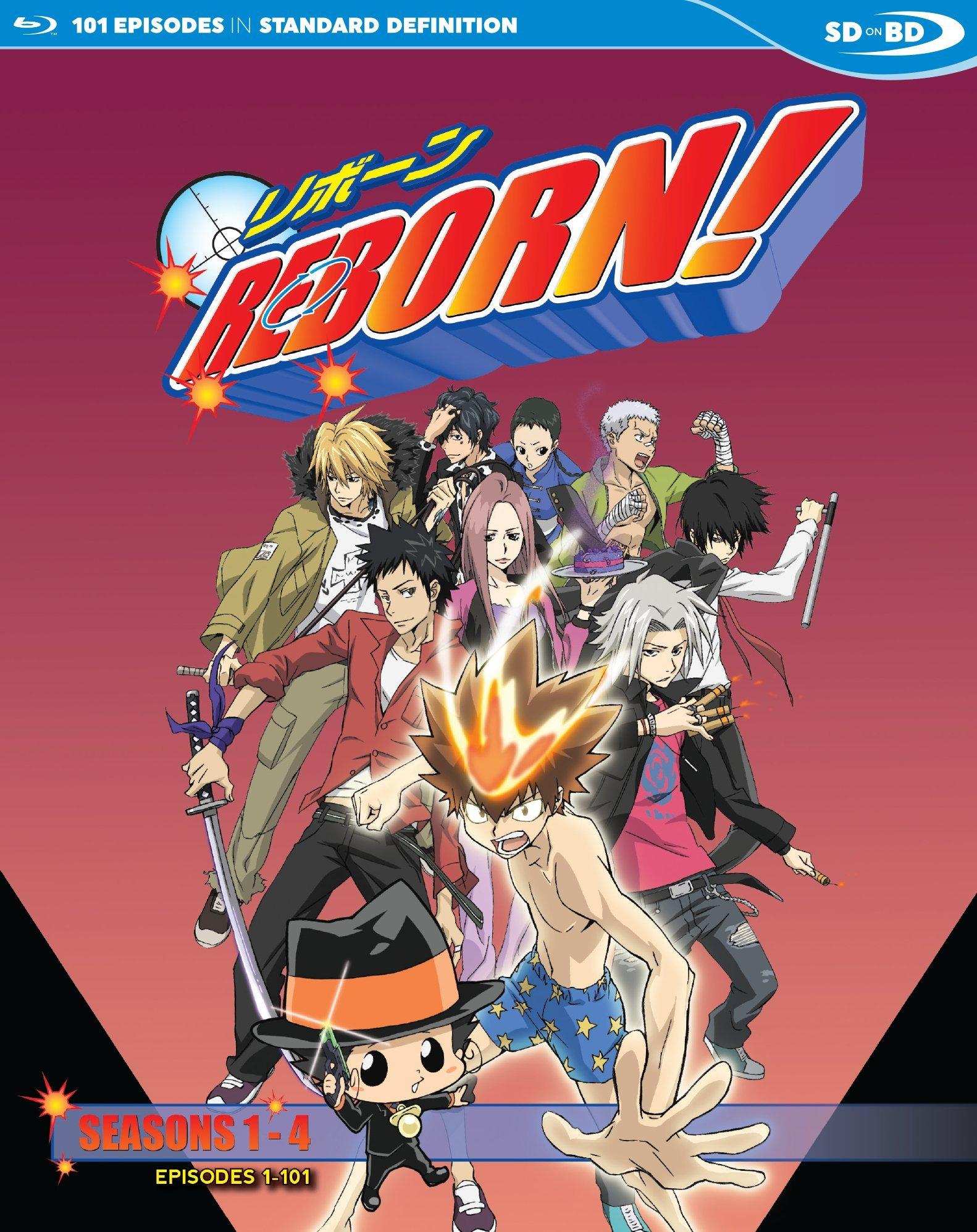 Blu-ray : Reborn: Tv Series 1 (2PC)