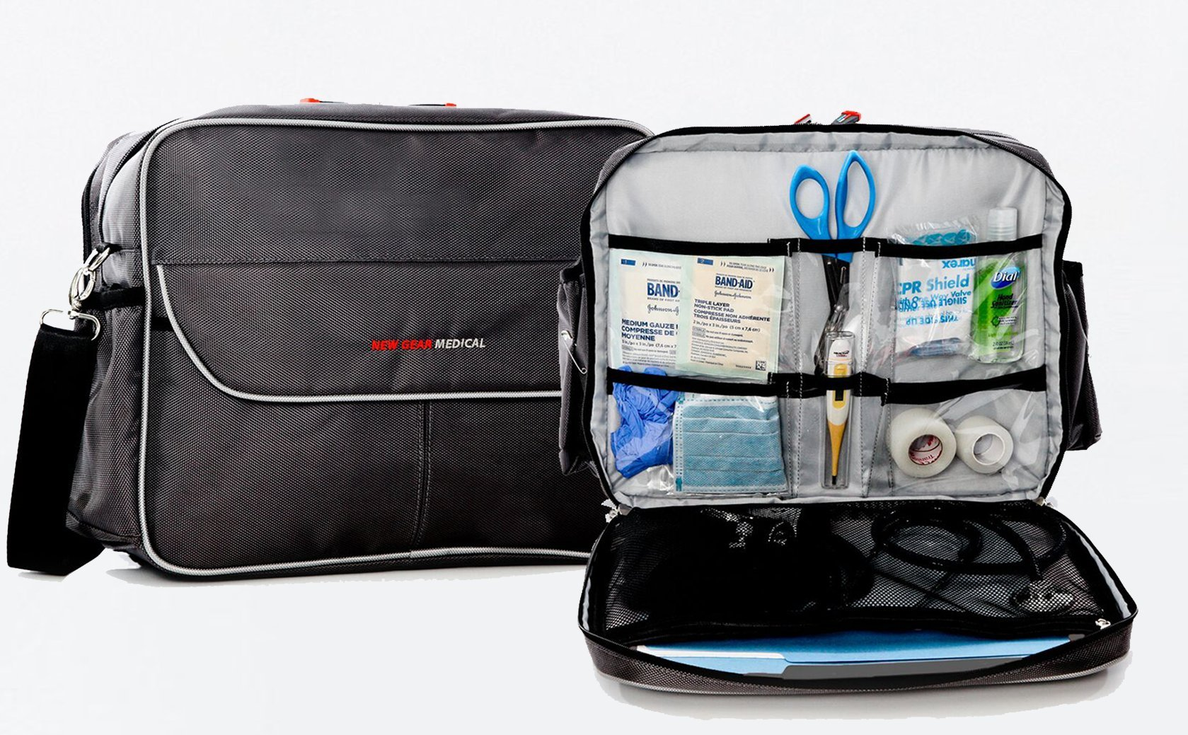 Medical Bag- Essential, Home Health, Nurses, Students, Un-Packed