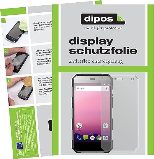 dipos I 2X Protector de Pantalla Mate Compatible con Nomu S10 Pro ...