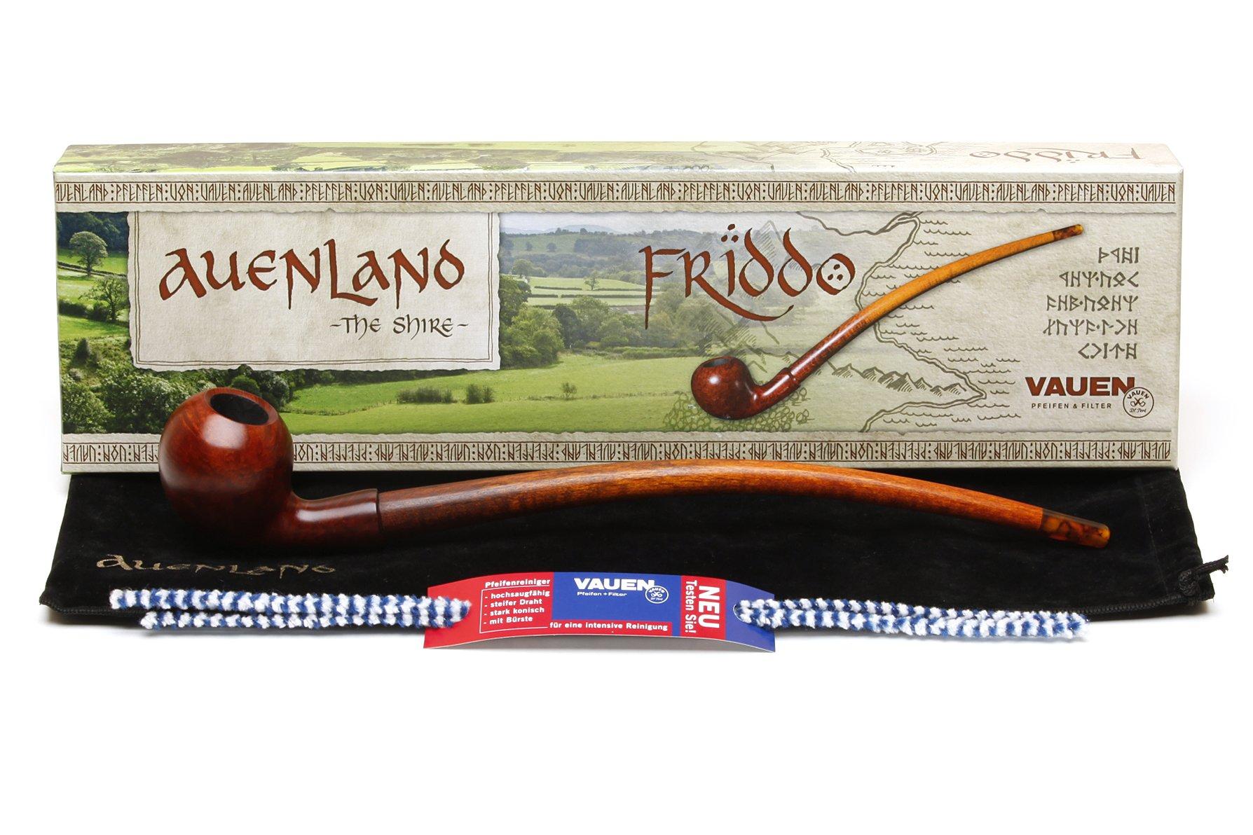 Vauen Auenland Friddo Churchwarden Tobacco Pipe
