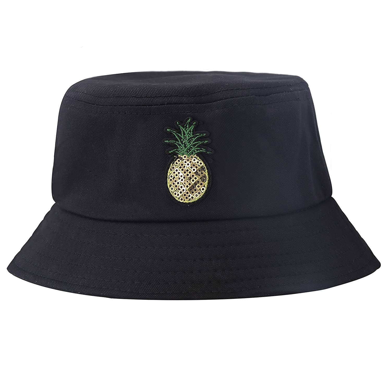 ZLYC Unisex Fashion Embroidered Bucket Hat Summer Fisherman Cap for Men Women Teens ZYJ-MZ-131