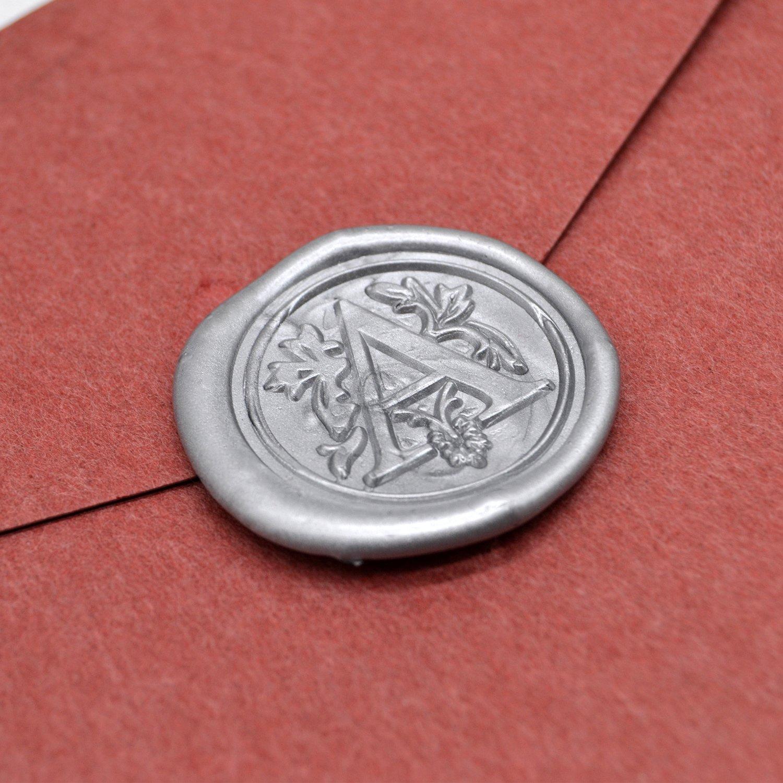 Amazon.com: Silver Wax Seal Sticks for Wedding Invitations Vintage ...