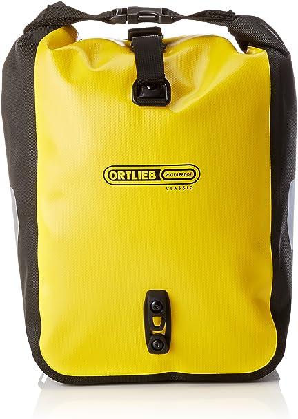 Yellow//Black Ortlieb Front Roller Classic Ql2.1 Waterproof Pannier Bag Pair