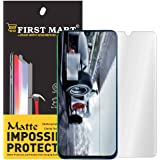 First MART Flexiable Matte Screen Protector for Samsung Galaxy M30s Tempered Glass Precisely-Engineered Matte Finish Hammer Proof Impossible Fiber Film Screen Guard for Samsung M30s
