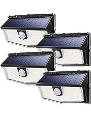 Mpow 300 LED Lampe Solaire Extérieur
