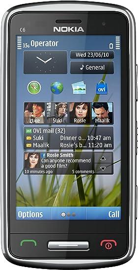 Nokia C6-01 Negro, Plata - Smartphone (8,13 cm (3.2