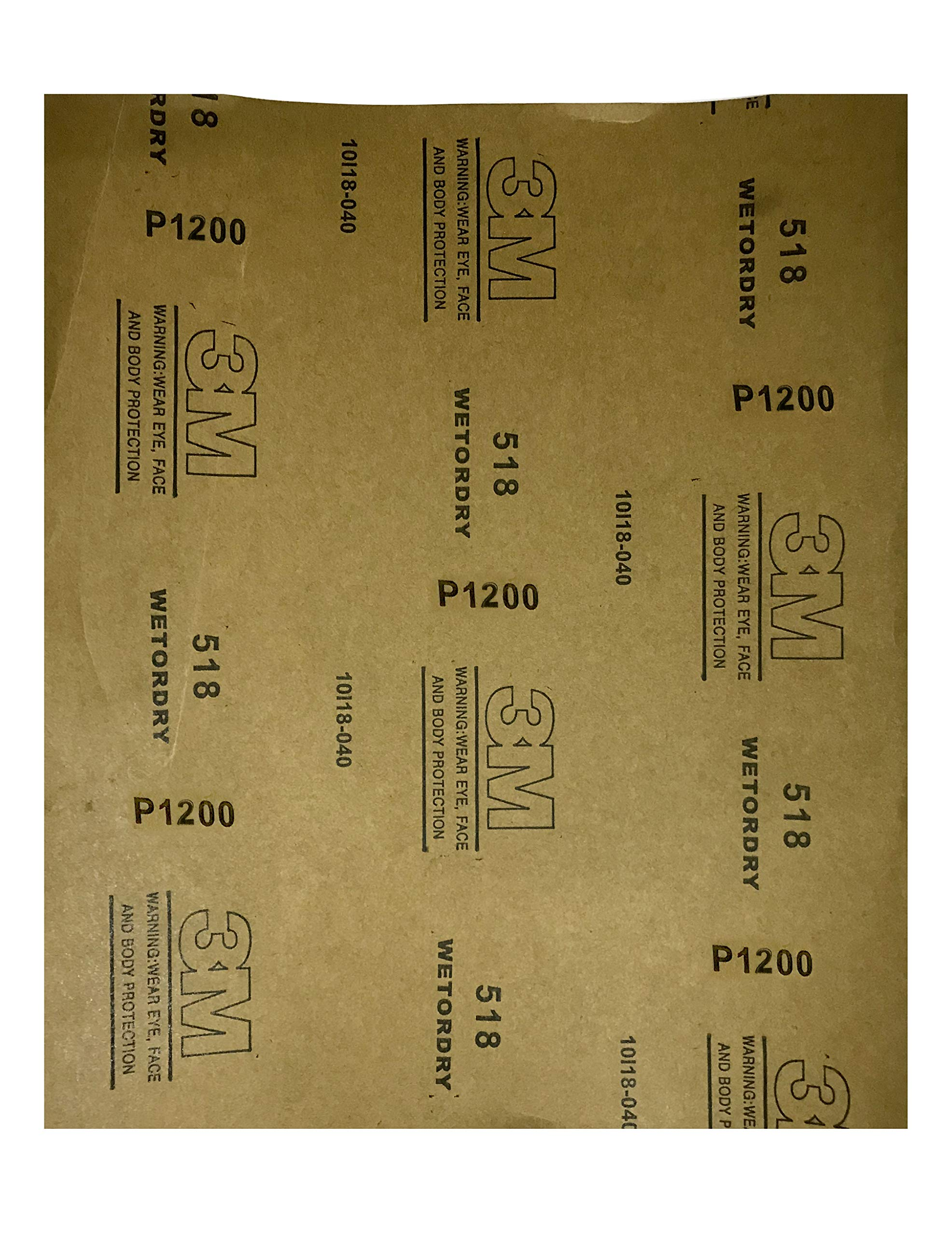 Amazon price history for 3M Sand Paper 1200 Grit Wet and Dry (Black) (Pack of 5)