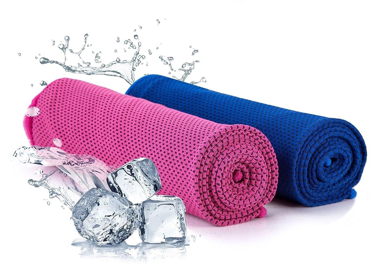 Outdoor Laufsport Fitness Kühlendes Kaltes Handtuch Sporthandtuch Eishandtuch