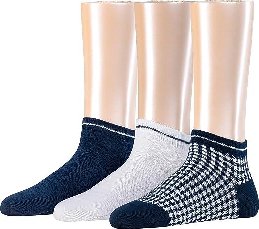 Esprit Checks Calcetines (Pack de 3) para Mujer: Amazon.es: Ropa y ...