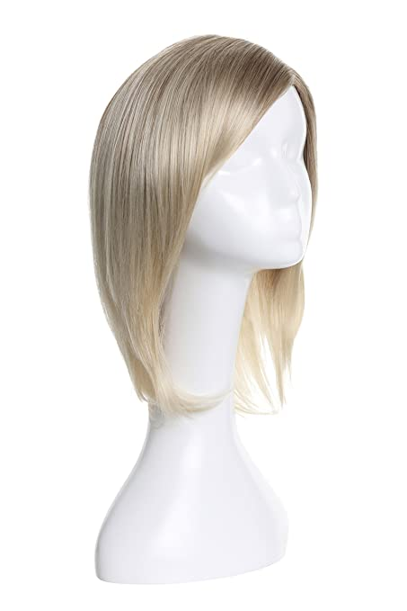 American Dream Caroline parte monofilamento, sintético peluca, Nat plat Swirl