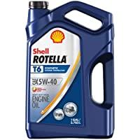 Shell Rotella T6 Full Synthetic 5W-40 Diesel Engine Oil 1-Gal