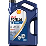 Shell Rotella T6 Full Synthetic 5W-40 Diesel Engine Oil (1-Gallon