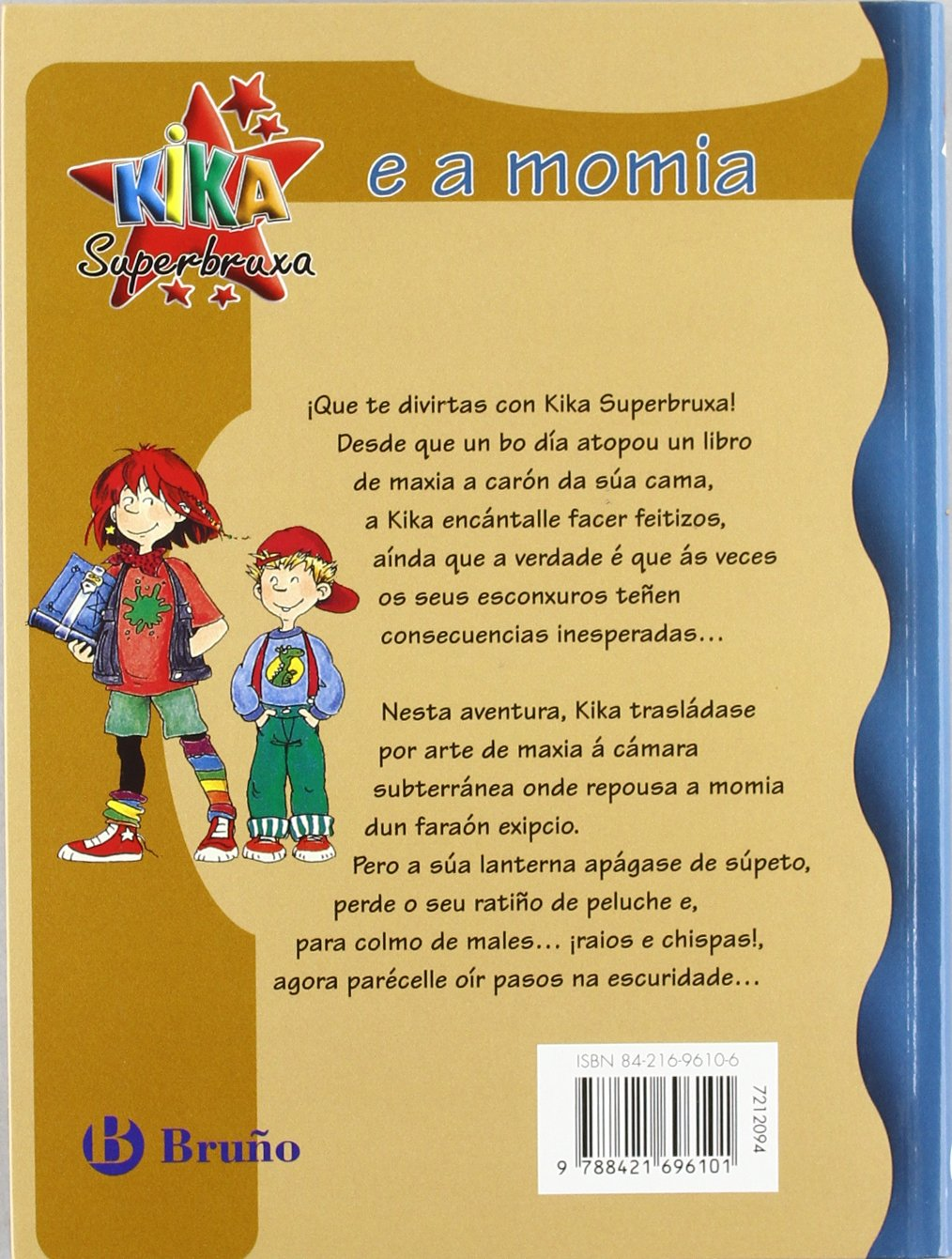Amazon.com: Kika Superbruxa E a Momia (Kika Superbruxa/ Kika Super Witch) (Galician Edition) (9788421696101): Knister: Books