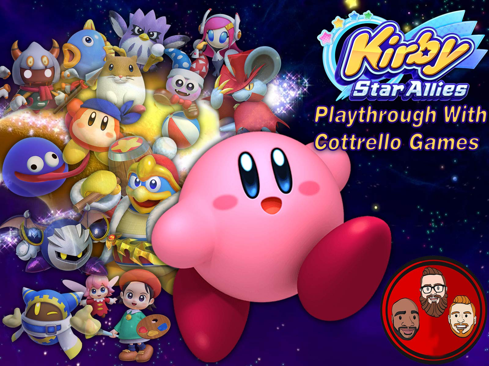 Kirby Star Allies Multiplayer Playthrough with Cottrello Games