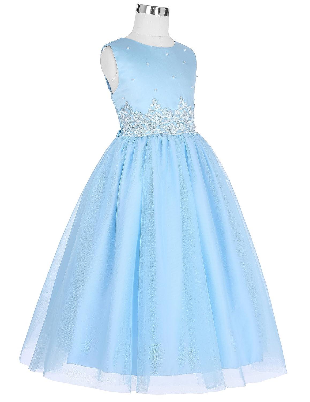 GRACE KARIN Flower Girl Princess Bridesmaid Wedding Pageant Party Dresses