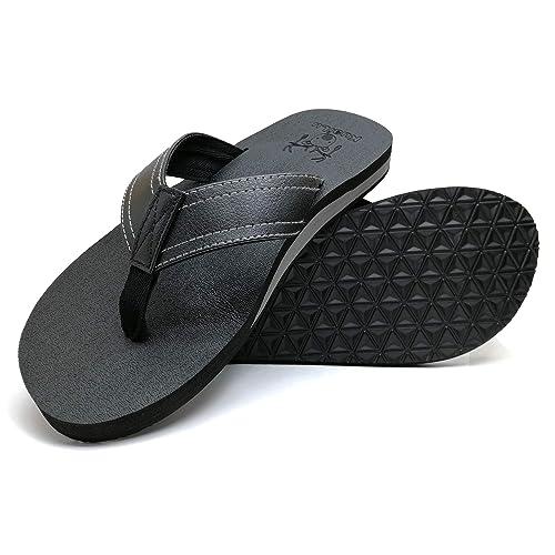 Men's Flip Flops with Arch Support: Amazon.com