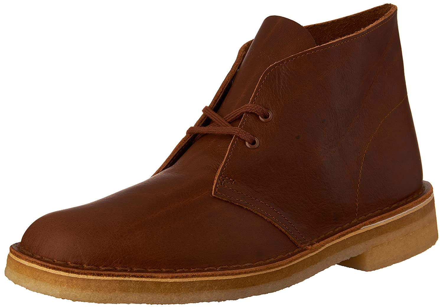 Amber Tumbled Leather Clarks Men's Desert Boot Ankle Boots