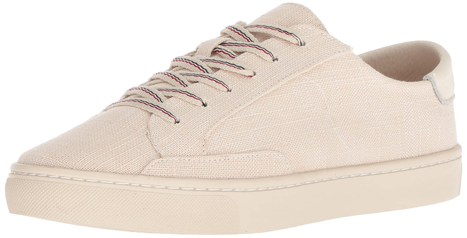 Soludos Women's Ibiza Linen Lace up Sneaker B077Y1Q5XS 6 B(M) US|Blush
