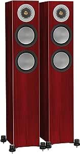 Monitor Audio Silver 200 Floorstanding Speaker Rosenut Pair