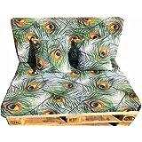 Dydaya Conjunto Muebles Exterion Sofa Palets Chillout Color ...