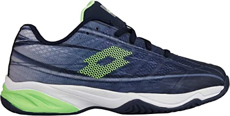 Lotto Zapatilla Tenis Padel Junior Mirange 300 ALR. 210746 Navy Blue/Green. Talla 36: Amazon.es: Deportes y aire libre