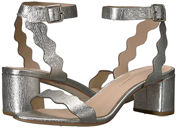 48c60506f2 Amazon.com: Loeffler Randall Women's EMI (Crinkle Metallic) Heeled Sandal:  Shoes