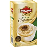 Moccona Instant Coffee Strong Cappuccino - 10 Individuals Sachets (150g x 3 Packs)