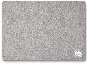 """OHOCO Wool Pressing Mat for Quilting - 17"""" x 24"""" Extra Large Felt Ironing Pad 1/2"""" Thick, 100% New Zealand Wool for Ironing, Sewing, Cutting on Ironing Board, Tabletop, Dryer, Countertop"""