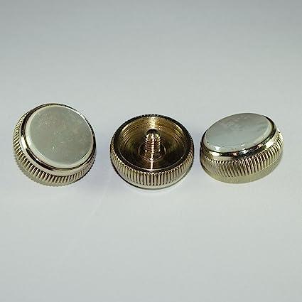 Genuine Bach Stradivarius pearl valve buttons