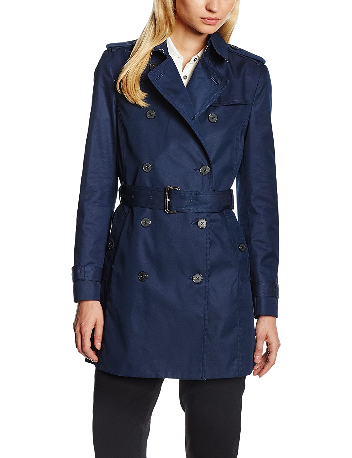Tommy Hilfiger Damen Mantel Heritage Double Breasted Trench