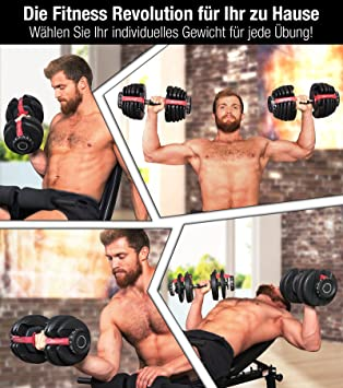 ... Sport Ripping Ah200 Adjustable 15In1 With Innovative Click System From 1 To 24 KgWith Safety Gear Ring And Anti-Slip Grab Bar 15 Dumbbells With Base.