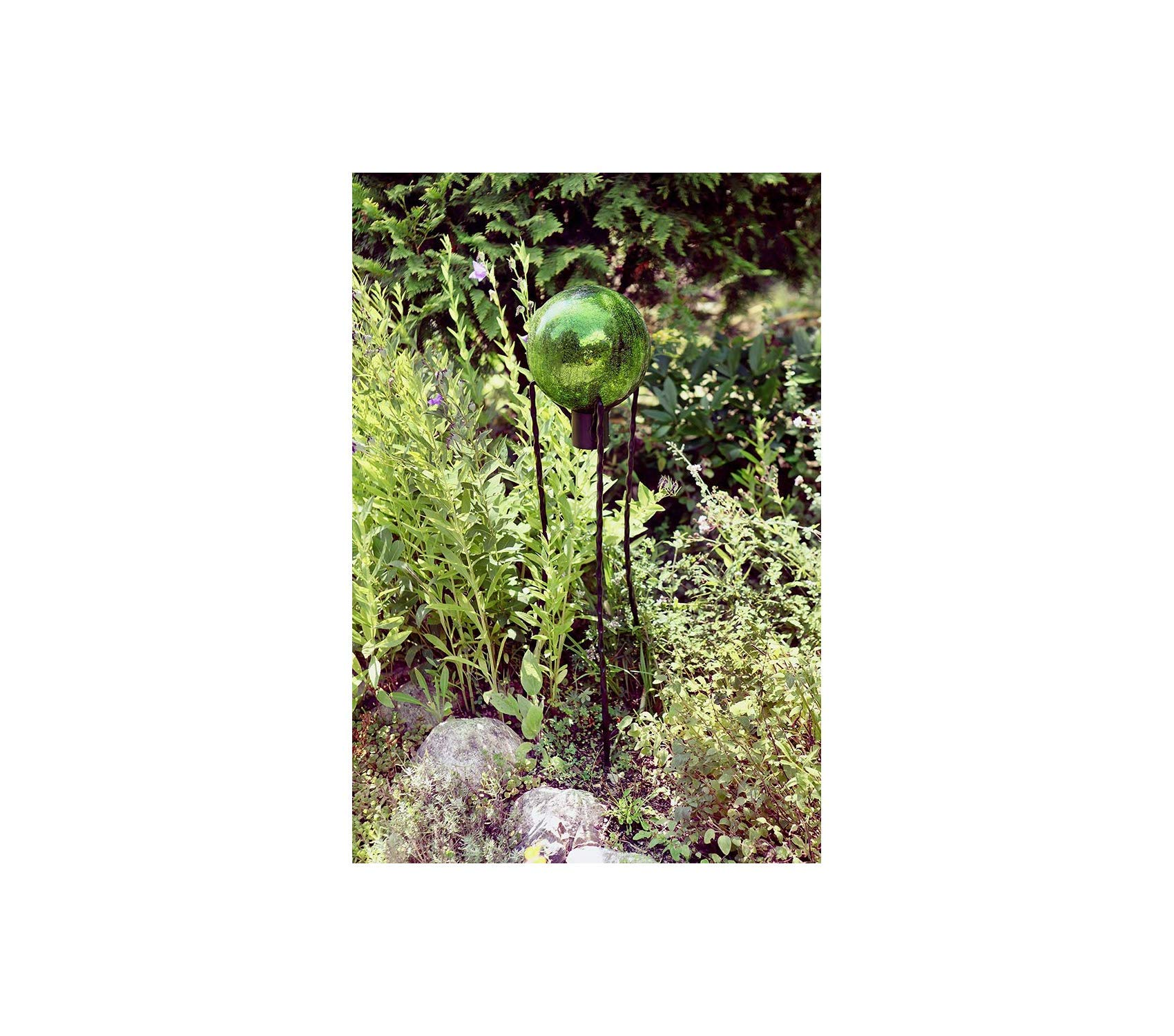 Аchlа Outdoor Garden Backyard Décor Designs Gazing Globe Ball Stand, 31-Inch H Spiked by Аchlа (Image #3)