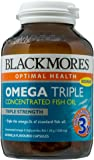 Blackmores Omega Triple Concentrated Fish Oil, 60ct
