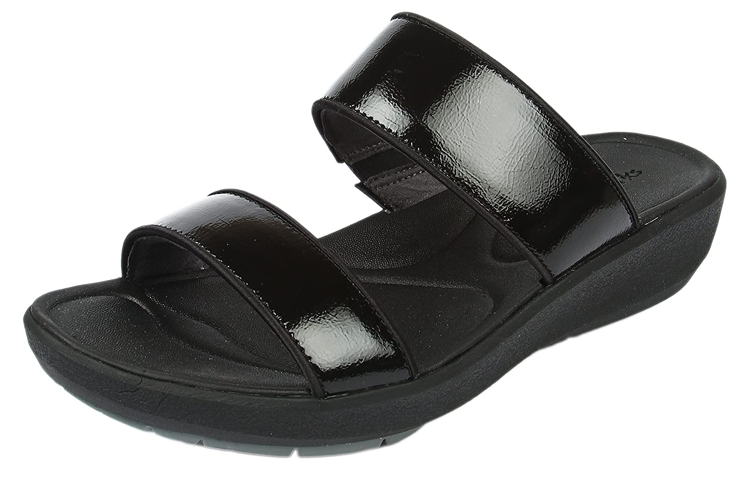 2bbe14963ee Clarks Women s Wave Glitter Black Fashion Sandals - 6.5 UK  Buy Online at  Low Prices in India - Amazon.in